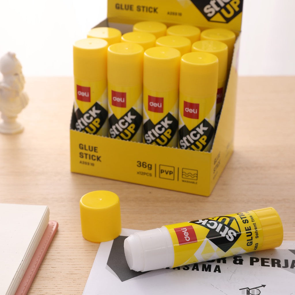 Deli EA20310 Strong Adhesive PVP Glue Stick 36g