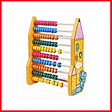Abacus Pencil Calculate Frame Counting Toy