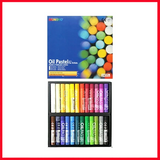 MUNGYO Oil Pastels for Artist 24 Pieces Color Set MOP – 24 – Multi Colors