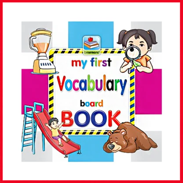 My First Board Book Of Vocabulary For Kids - 2080