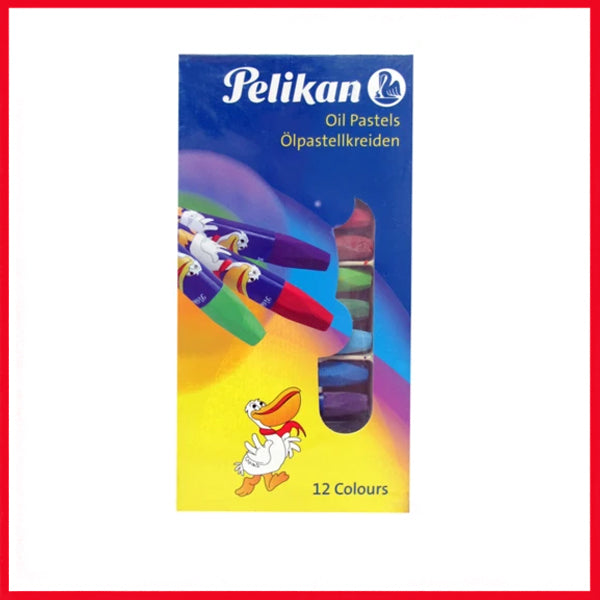 Pelikan Hexagonal Oil Pastel Pack of 12