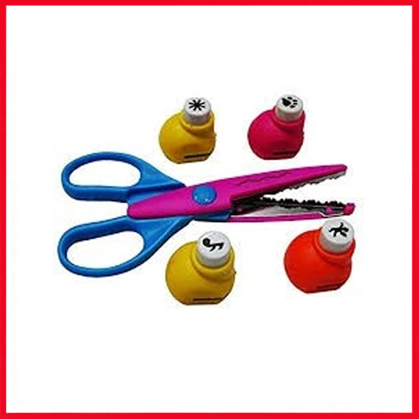 DIY Craft Punch 4 in 1 With Scissor
