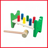 Hammer Bench - Percussion Platform - Wooden Toy