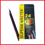 Marco Super Writer Color pencil 24 Pcs Box