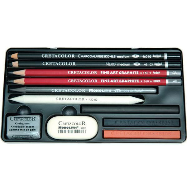 Cretacolor Teacher Choice Drawing Set 11Pcs