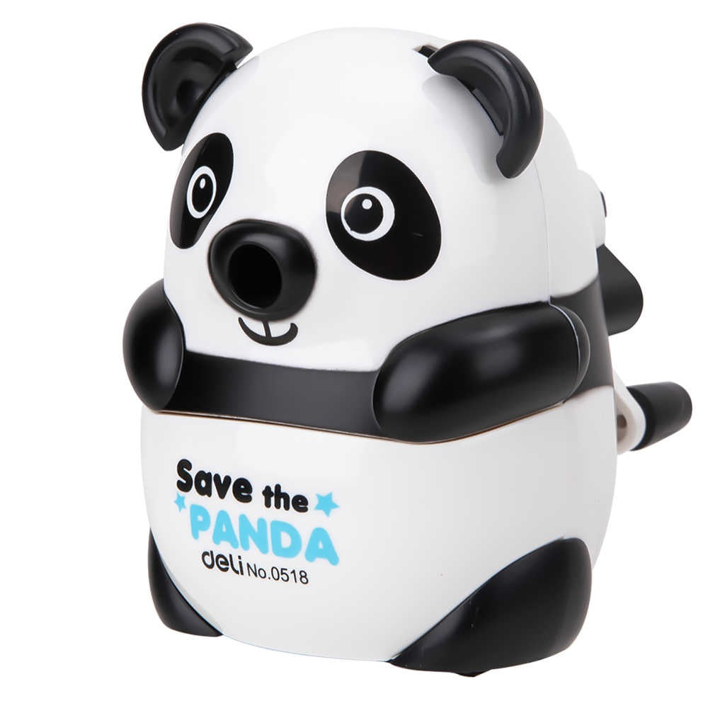 Deli E0518  Rotary Pencil Sharpener (Panda Shape)