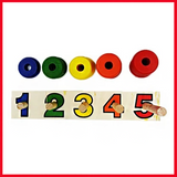 Step By Step Game - Wooden Toys - Wooden Game