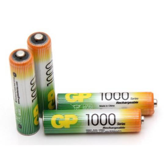 GP 1000 MAH AAA Rechargeable Batteries (2 Cell)