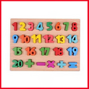 Large Wooden Numbers - Wood Number