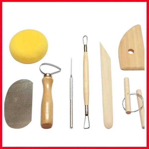 Pottery Tool Kit Clay Set Pack of 8