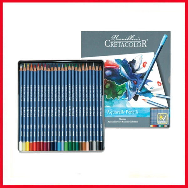 Cretacolor Aquarelle Watercolor Pencil 24 Pcs Box