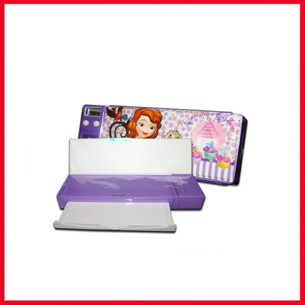 Kids Geometry box - Stationery Case - Cartoon Geometry C-8020