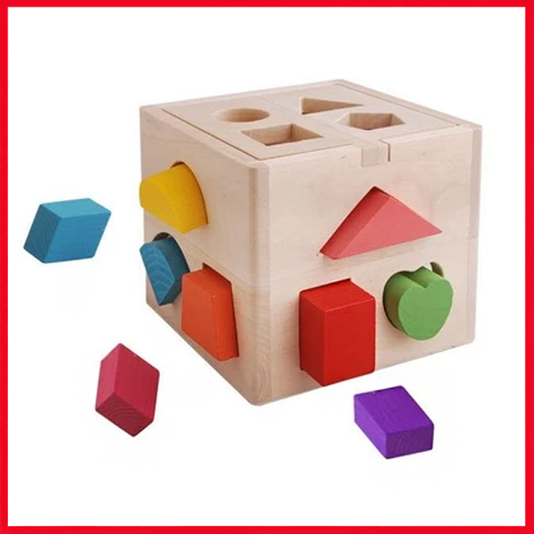 Shape Matching Box Of Intelligence- Beating Ball