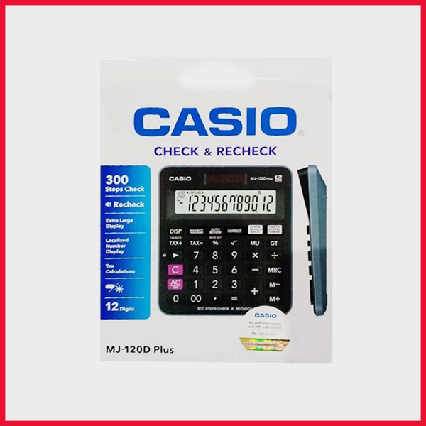 Casio Calculator MJ 120d Plus