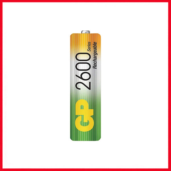 GP 2600 MAH AA Rechargeable Batteries (2 Cell)