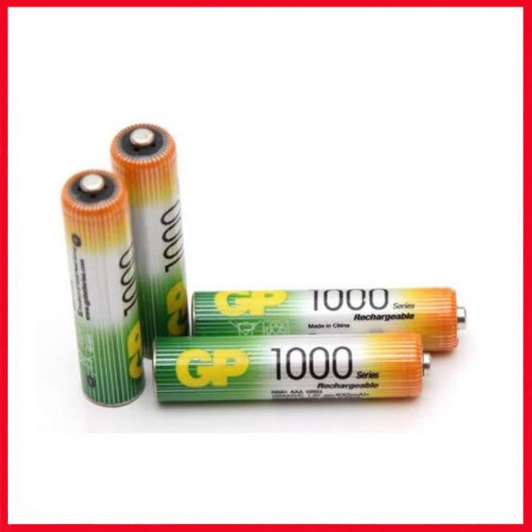 GP 1000 MAH AA Rechargeable Batteries (2 Cell)