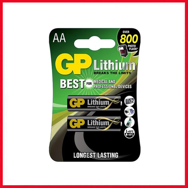 GP Lithium AA (2 Cell)