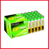 GP Super AAA LR03 1.5V Alkaline Batteries 40 Pcs