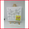 Kids Canvas Painting Set With Canvas Stand