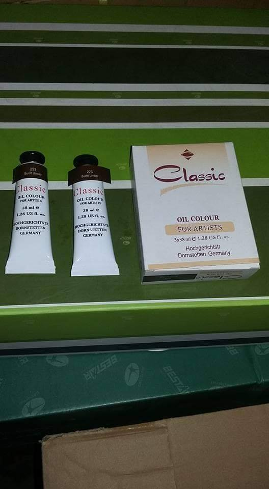 Classic Oil Color Tubes 38ml