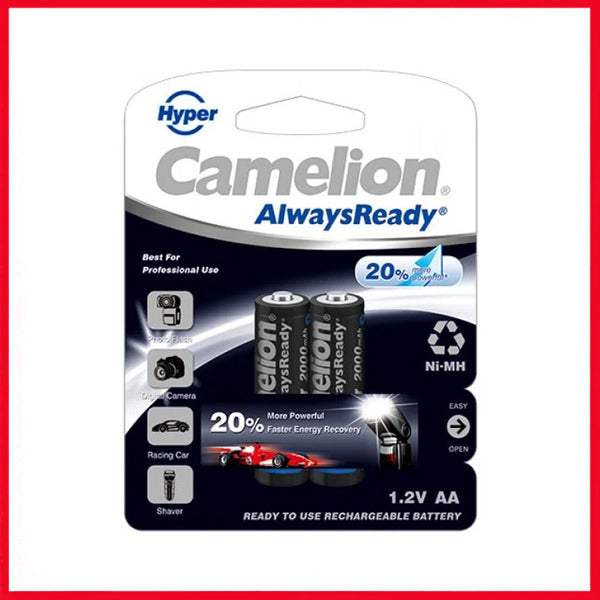 Camelion AlwaysReady 2000 MAh AA2 AR Rechargeable Battery (1Pc)