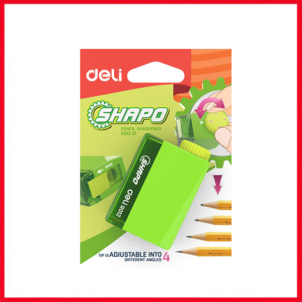 Deli ER01201 1-Hole Adjustable Sharpener