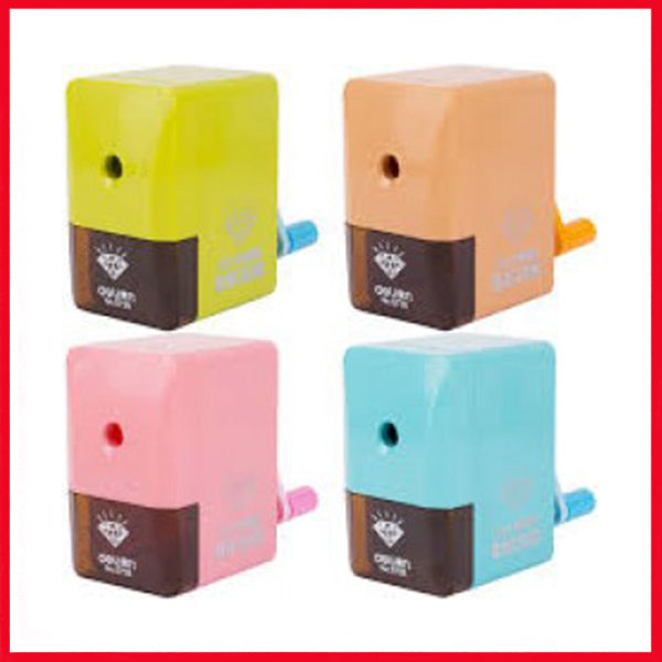 Deli Rotary Pencil Sharpener, Vividus E0736