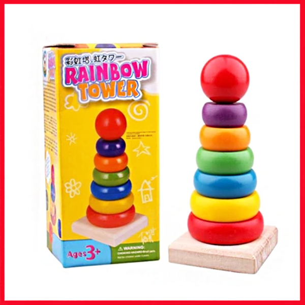 Rainbow Towers Toys For kids - Kids learning Toys