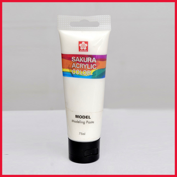 Sakura Acrylic Modeling Paste Tube 75ML