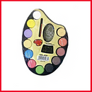 Water Color Artist Palette With Paint Brush & 12 Colors KDS-8026.