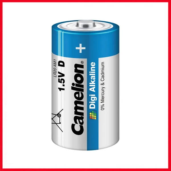 Camelion Digi Alkaline Batteries D (1Pc)