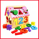 Best Montessori Toys - Intelligent House Number Blocks
