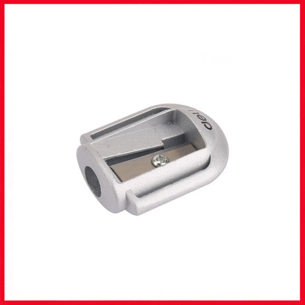 Deli Zinc Alloy Student Pencil Sharpener (Blister Card) (E0595)