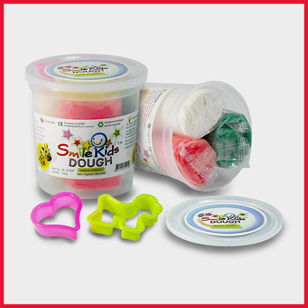 Smile Kids Dough 3 Colors Set 120g