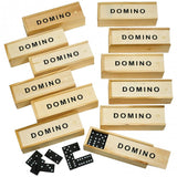 Wooden Dominoes Set 28pcs