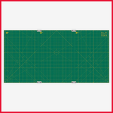 OLFA Gridded Cutting Mat Set Clipped 35x70 Inch