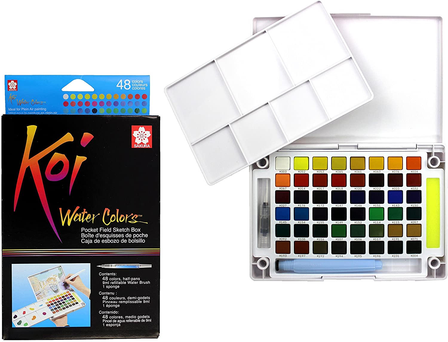 Sakura Koi Watercolor Set Of 48