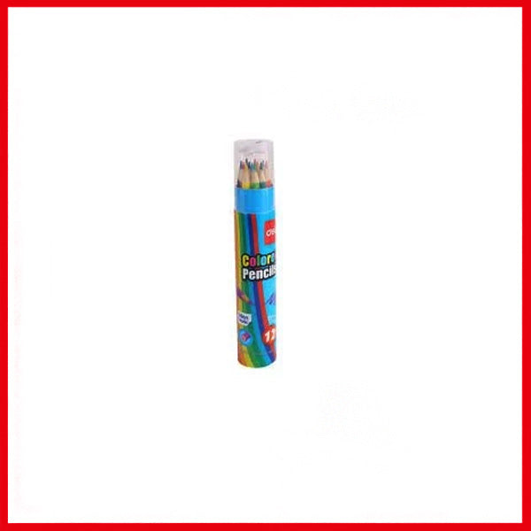 Deli Student Colored Pencil (12) (Tube Mini) (E7012)