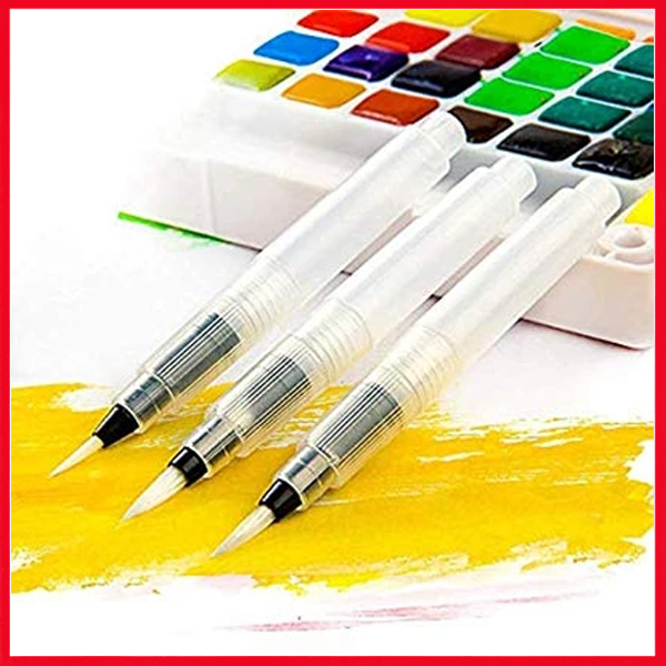 Watercolor Brush Pen 3 Pcs Set