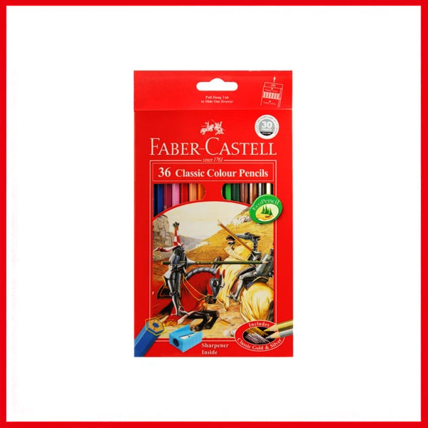 Faber-Castell Classic Color Pencil 36 Pcs Box