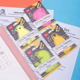 Deli Sticky Notes EA55102 (4Neon Colors)