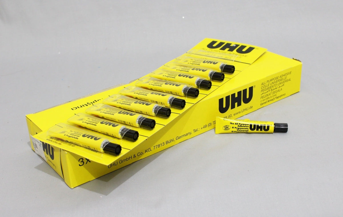 UHU Glue All Purpose 7ml Pack of 10