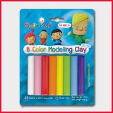 Smile Kid Flat Modelling Clay 100g 8 Colors