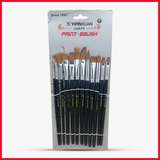 YIPINXUAN Mix Paint Brush Pack of 12