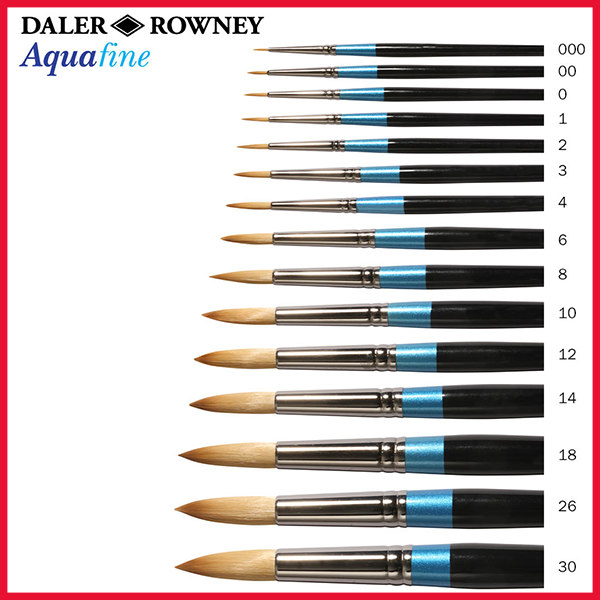 Daler Rowney Aquafine Paint Brush Single Piece