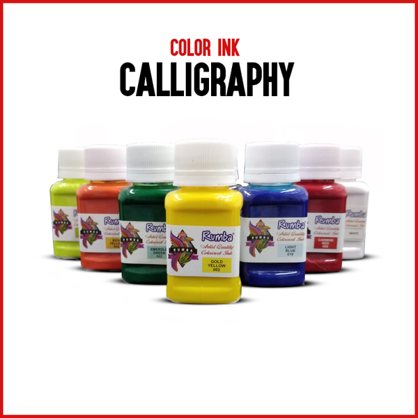 Artist Quality Calligraphy Color Ink 40ml