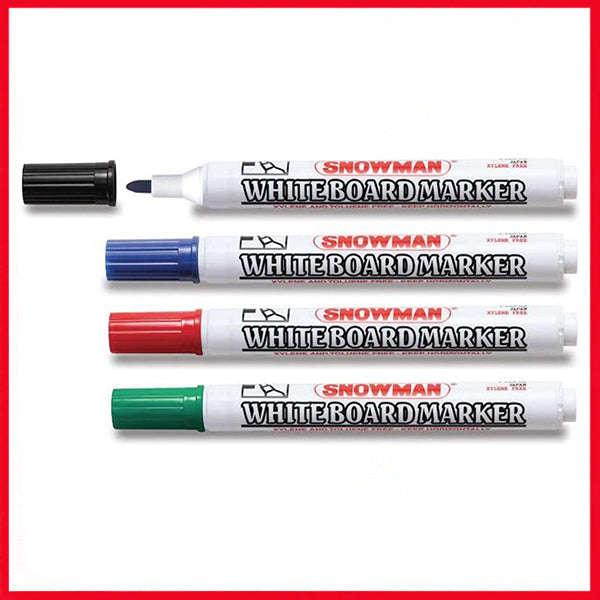 Snowman Board Marker Round Tip - Single Piece