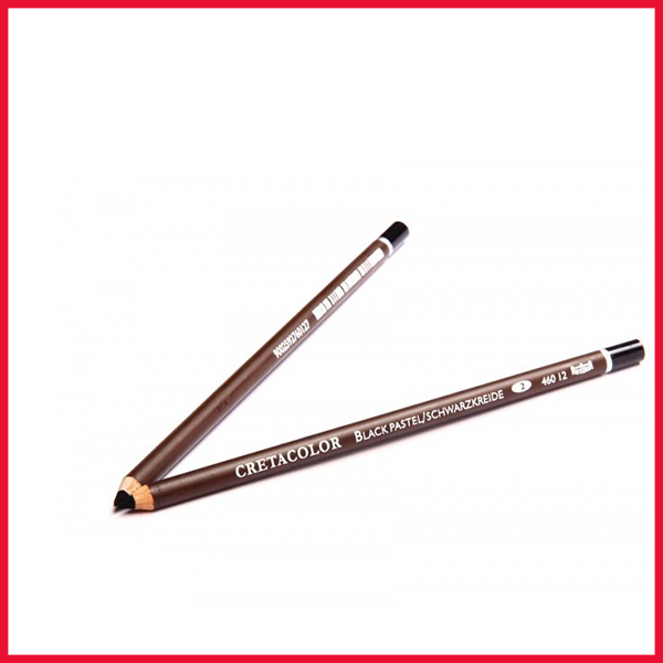 Cretacolor Black Pastel Pencil Single Piece