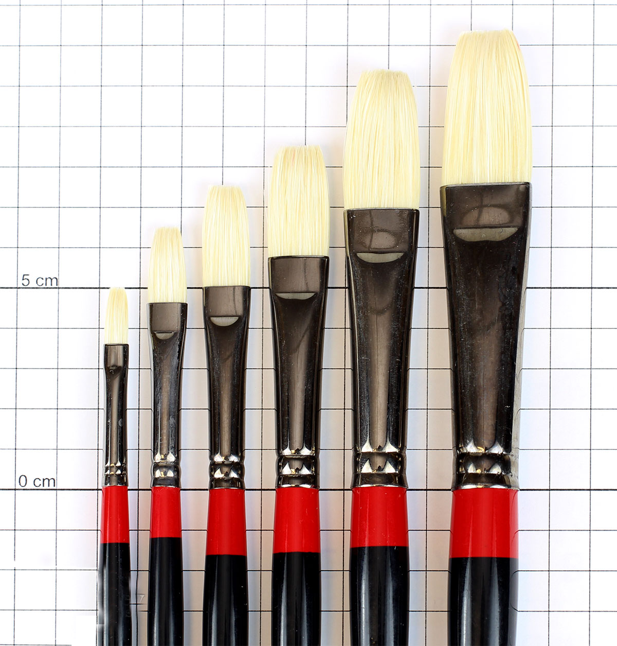 Daler Rowney Georgian Flat Brushes Single Piece