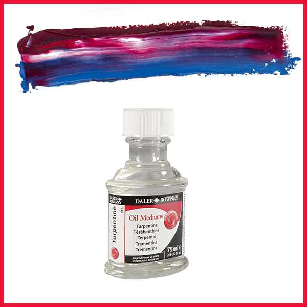 Daler Rowney Turpentine Oil Medium 75ml